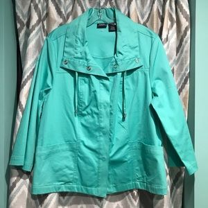 Norton McNaughton New Womans Dress Jacket Green Lg